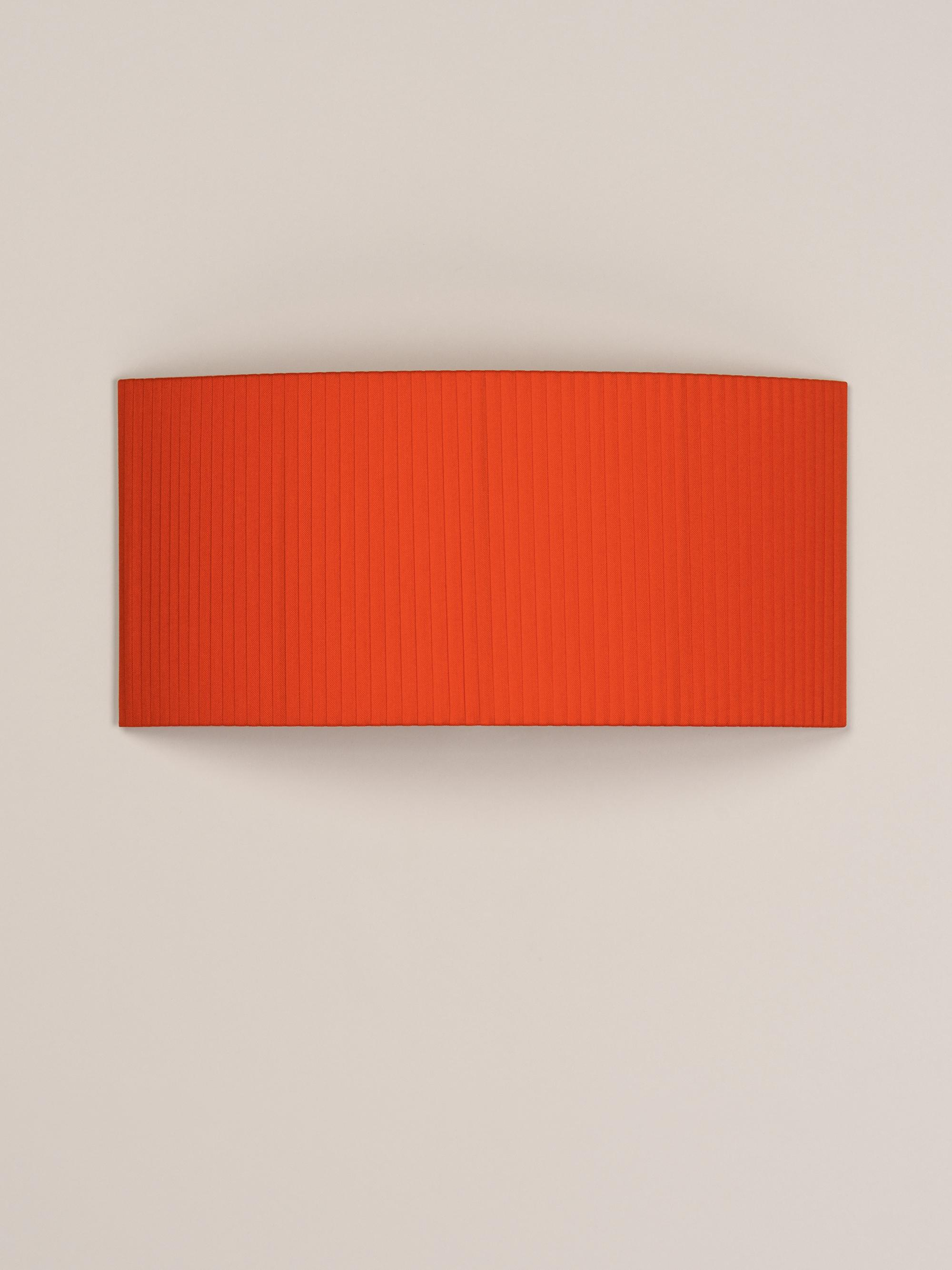 Comodín rectangular | Red-amber ribbon