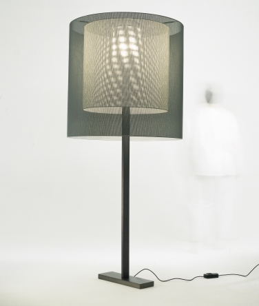 Floor lamps moaré