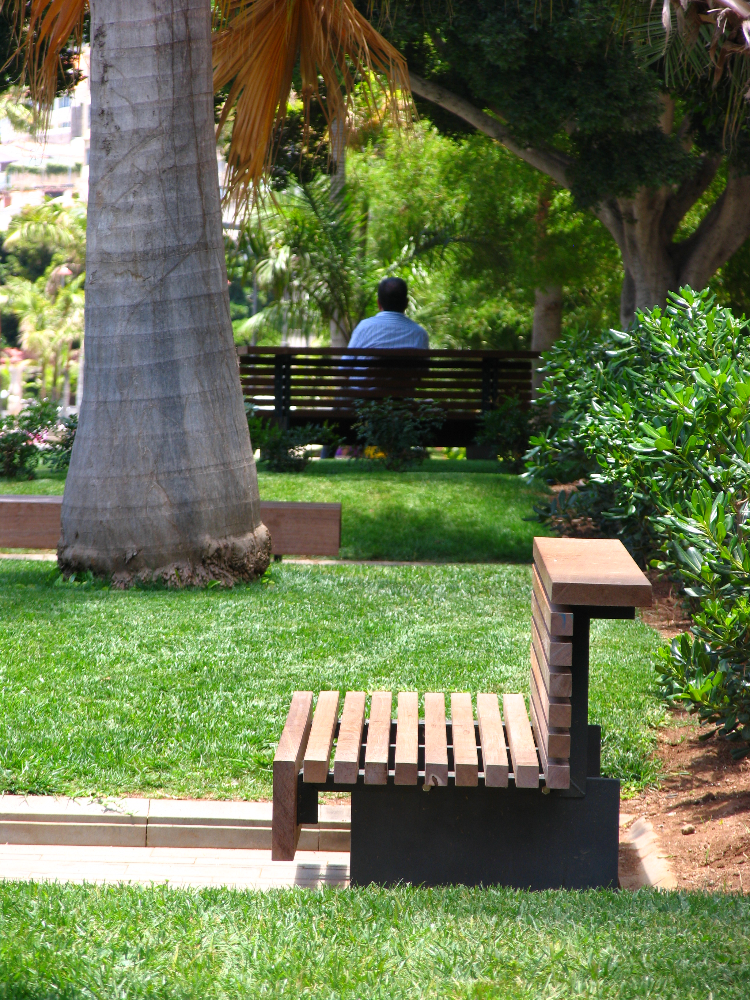 Proyectos parque garc a sanabria santa cruz de for Mobiliario urbano contemporaneo